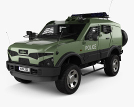 3D model of Oshkosh Sand Cat Transport 2012