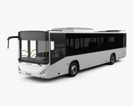 3D model of Otokar Kent 290LF Bus 2010