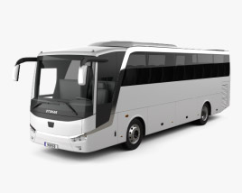 3D model of Otokar Vectio 250T Bus 2007