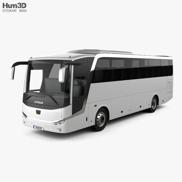 Otokar Vectio 250T Bus 2007 3D model