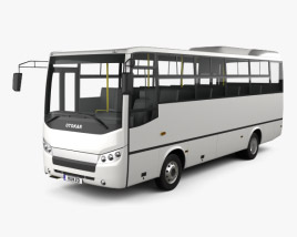 3D model of Otokar Navigo C Bus 2017