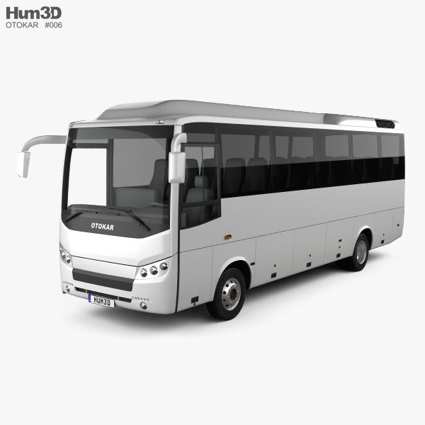 Otokar Navigo T Bus 2017 3D model