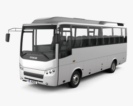 3D model of Otokar Navigo U Bus 2017