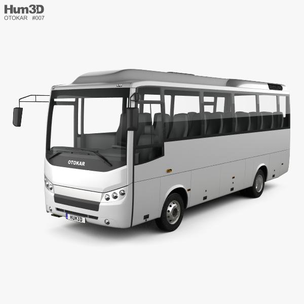 Otokar Navigo U Bus 2017 3D model