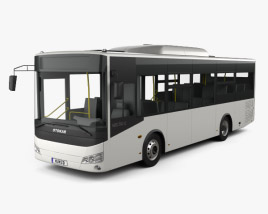 3D model of Otokar Vectio C Bus 2017