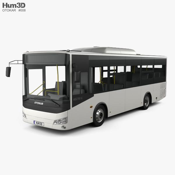 Otokar Vectio C Bus 2017 3D model