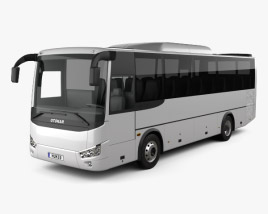3D model of Otokar Vectio U Bus 2017