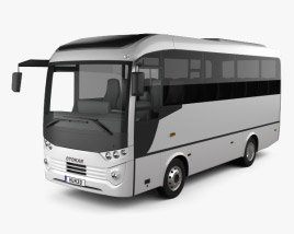 3D model of Otokar Tempo Bus 2014