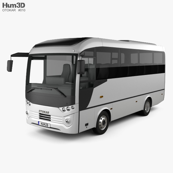 Otokar Tempo Bus 2014 3D model