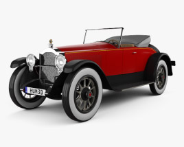 3D model of Packard Twin Six 1919
