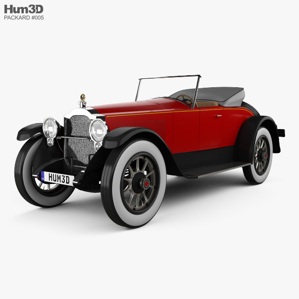 Packard Twin Six 1919 3D model