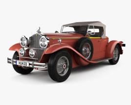 Packard 734 1930 3D model
