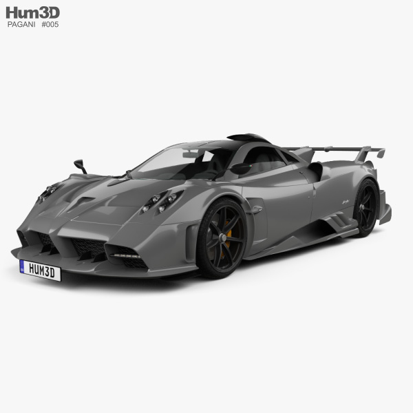 Pagani Imola 2020 3D model