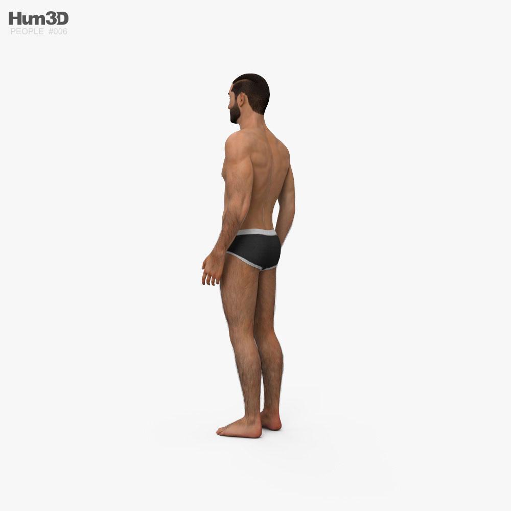 Arab Man 3d model