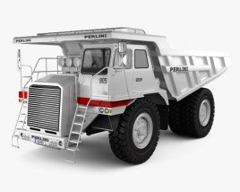 3D model of Perlini DP 905 Dump Truck 2016