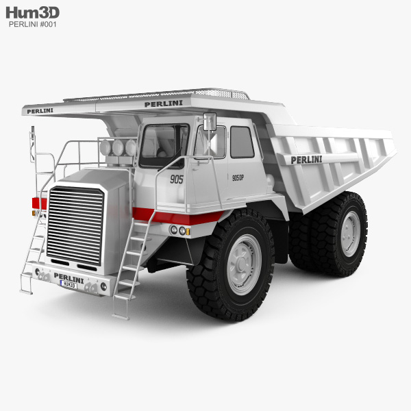Perlini DP 905 Dump Truck 2016 3D model