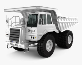 3D model of Perlini DP 655 B Dump Truck 2016