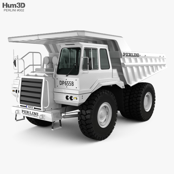 Perlini DP 655 B Dump Truck 2016 3D model