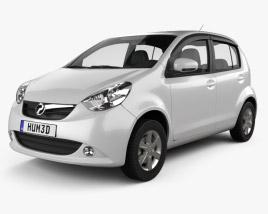 3D model of Perodua MyVi 2012