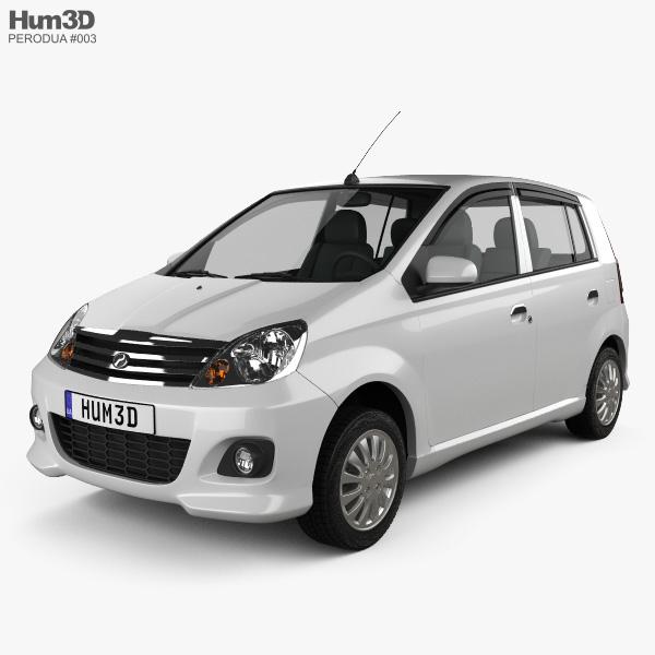 3D model of Perodua Viva 2009