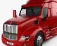 Peterbilt 579 Tractor Truck 2012 3d model