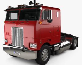 3D model of Peterbilt 262 Tractor Truck 1978