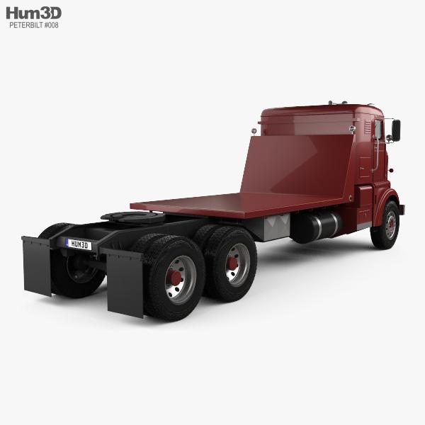 Peterbilt 350 Tractor Truck 1949 3D model