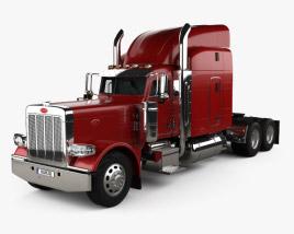 3D model of Peterbilt 389 Tractor Truck 2007