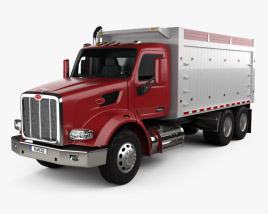 Peterbilt 567 Tipper Truck 2015 3D model