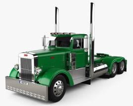 3D model of Peterbilt 351 Tractor Truck 1954