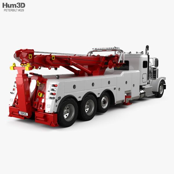 Peterbilt 388 Wrecker Truck 2014 3D model