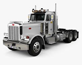 3D model of Peterbilt 359 Tractor Truck 2004