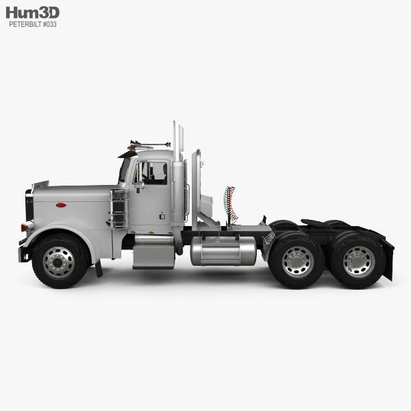 Peterbilt 359 Tractor Truck 2004 3D model