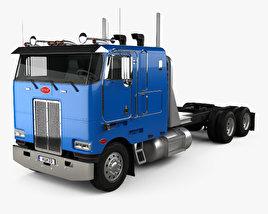 3D model of Peterbilt 362 Tractor Truck 2002