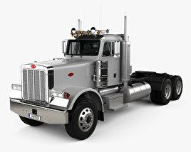 3D model of Peterbilt 378 Tractor Truck 2006