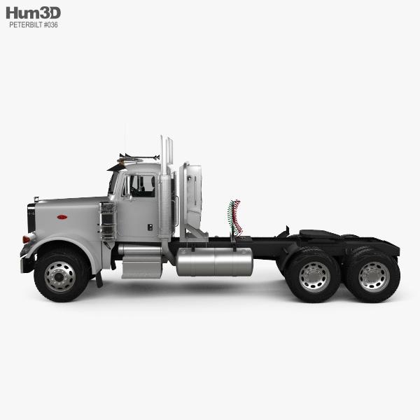 Peterbilt 378 Tractor Truck 2006 3D model