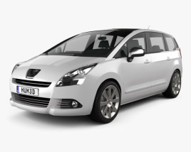 3D model of Peugeot 5008 2010