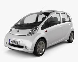 3D model of Peugeot iOn 2011