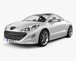3D model of Peugeot 308 RCZ 2011