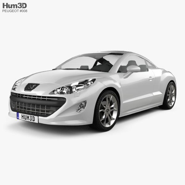 Peugeot 308 RCZ 2011 3D model