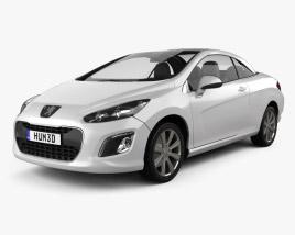 3D model of Peugeot 308 CC 2012