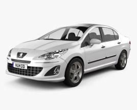 3D model of Peugeot 408 2012