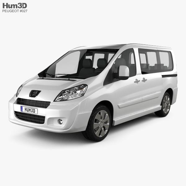 Peugeot Expert II combi L1H1 2011 3D model