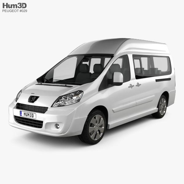 Peugeot Expert II Combi L2H2 2011 3D model