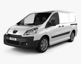Peugeot Expert II Panel Van L1H1 2011 3D model