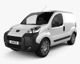 Peugeot Bipper Panel Van 2011 3D model