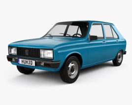 3D model of Peugeot 104 1976