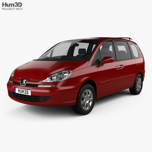 Peugeot 807 2008 3D model