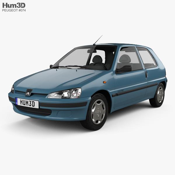 Peugeot 106 Electric 3-door 1993 3D model
