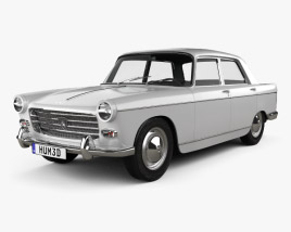 3D model of Peugeot 404 Berline 1960